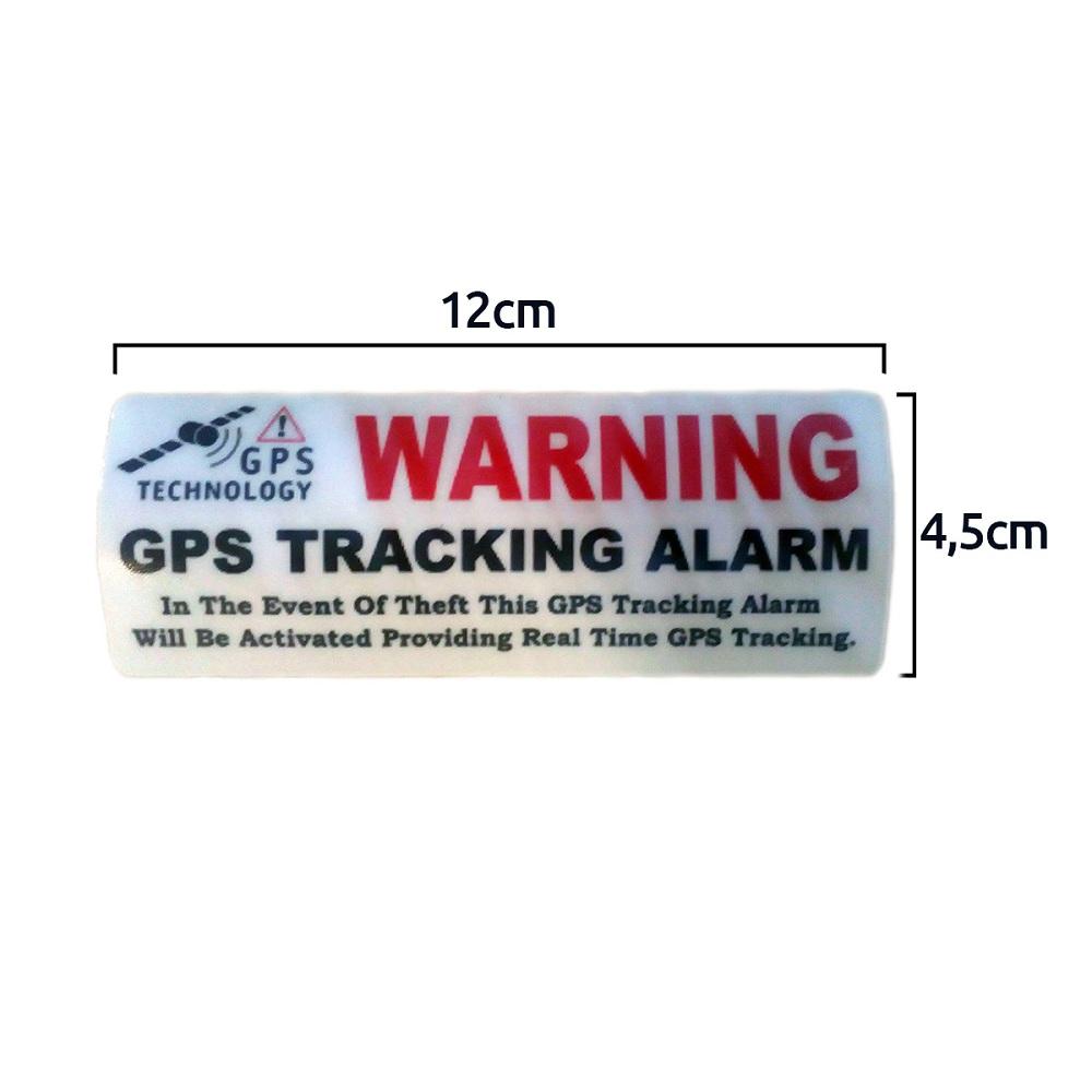 Alarmas-zoom pegatina-warning-localizador-gps