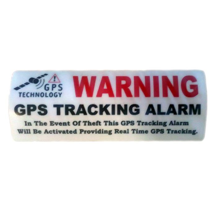 Otros pegatina-warning-localizador-gps