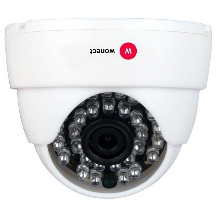 Wonect W31 Camara IP fija para techo domo Alta resolucion HD 720p Ranura Memoria interna