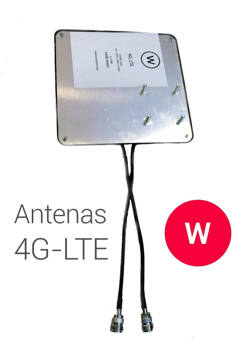 Wonect Panel 4G 44dBi 5m SMA
