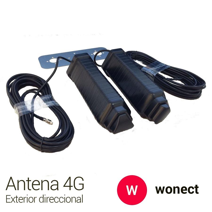 Wonect Yagi 4G 46dbi negra FME