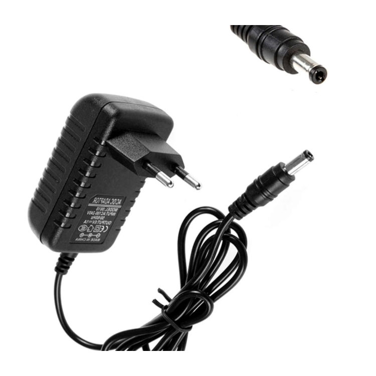 ADP04 Adaptador Alimentacion camara IP exterior 12V 1A Color Negro