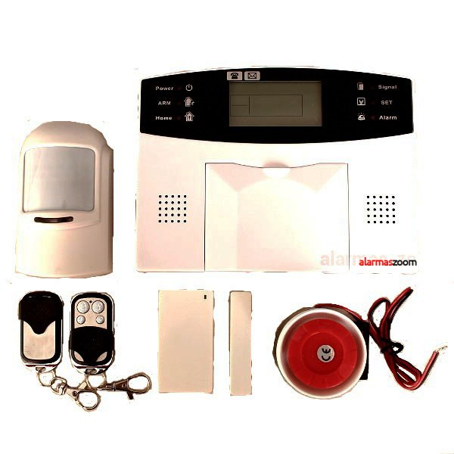AZ016 GA997CQ AZ016 GA997CQ alarmas-zoom ALARMA CASA HOGAR NEGOCIO GSM INALAMBRICA CON PANTALLA TECLADO LCD SIN ANTENA