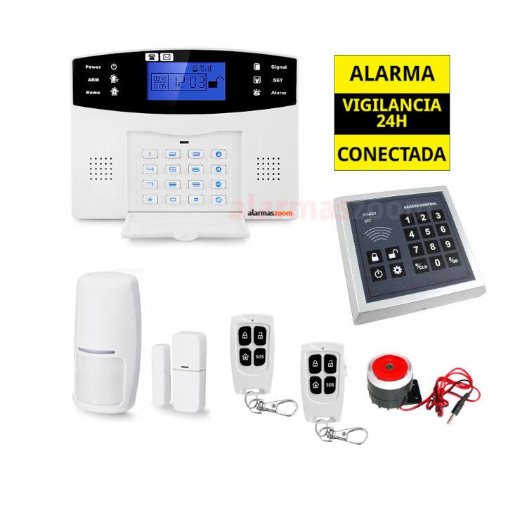 Sistema de alarma para casa Teclado control accesos AZ017 4