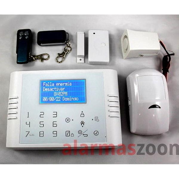 Alarmas-zoom 5200 5200 alarmas-zoom Kit De Alarma Inalambrica GSM SMS Seguridad Casa/Oficina/Tienda Control Remoto J