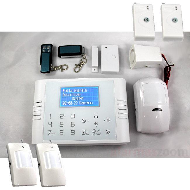 Alarma Hogar GSM Sin Cuotas para casa 3 PIR movimiento 5200 1