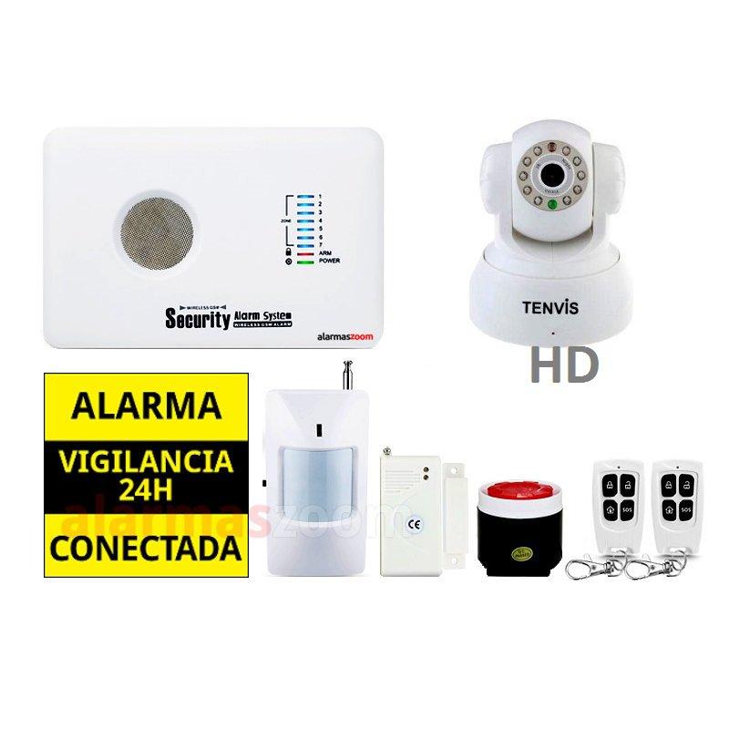 alarmas-zoom AZ018 G10C 4 ALARMA HOGAR SIN CUOTAS AZ018 CON CAMARA INTERIOR