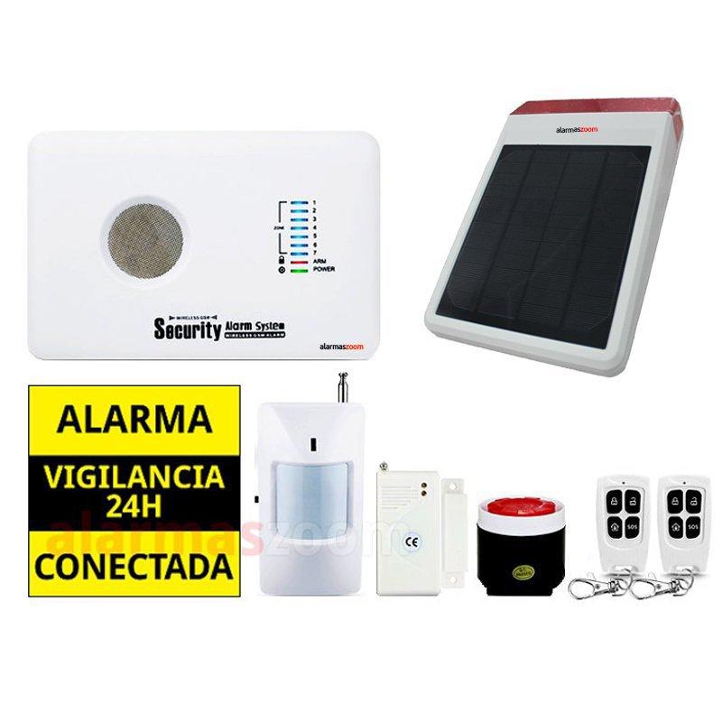 alarmas-zoom AZ018 G10C 13 ALARMA CASA HOGAR AZ018 CON SIRENA A BATERIAS