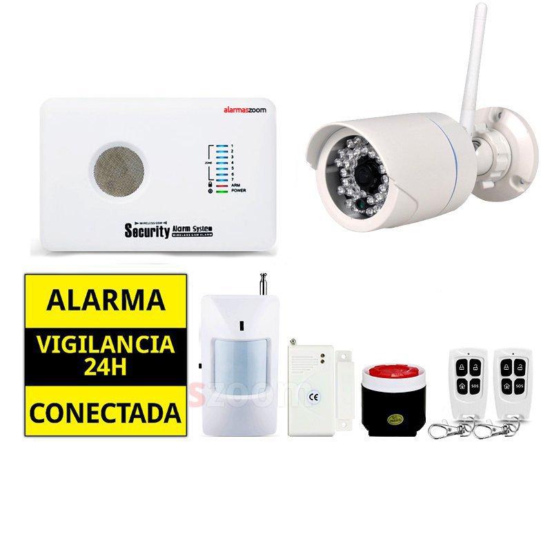 Kit alarma sin cuotas para casa AZ018 Camara de seguridad exterior fija Tenvis