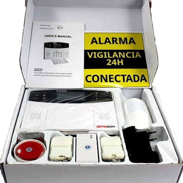 Alarmas-zoom AZ009 GA997CQ AZ009 GA997CQ alarmas-zoom ALARMA CASA HOGAR CASA VOCES ESPANOL CASTELLANO GSM INALAMBRICA ALTA SEGURIDAD CON DISPLAY TECLADO Y LCD