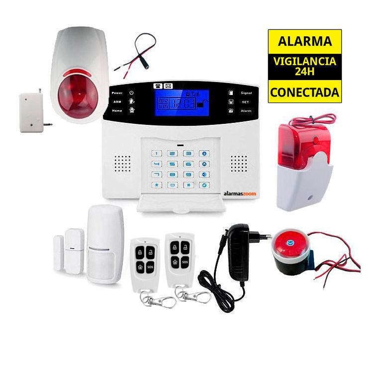 Sistema de alarma para casa con sirenas exteriores AZ017 26