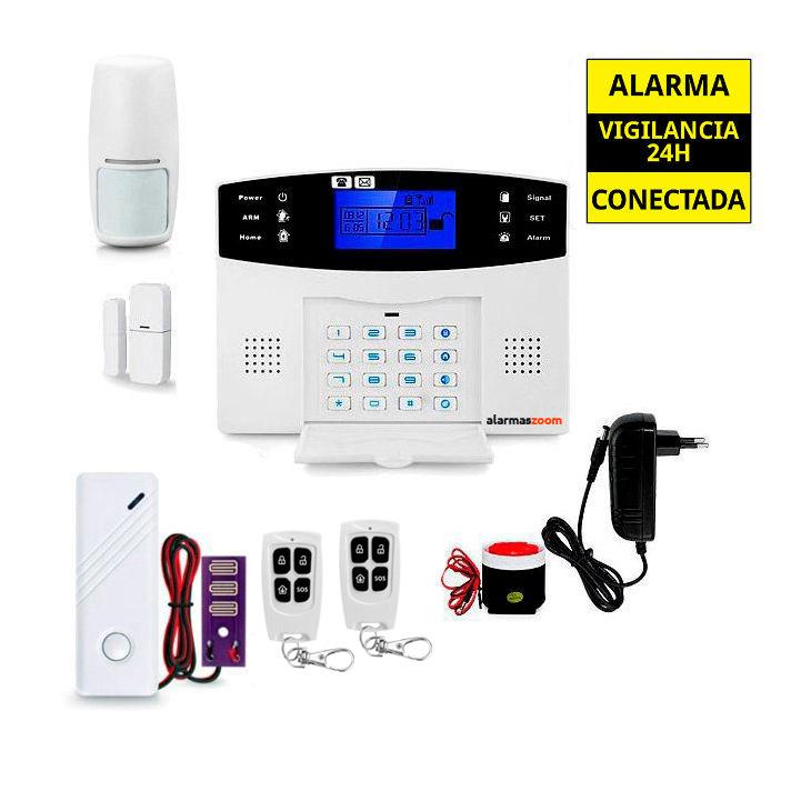 Sistema de alarma para casa con detector agua inundacion AZ017 29
