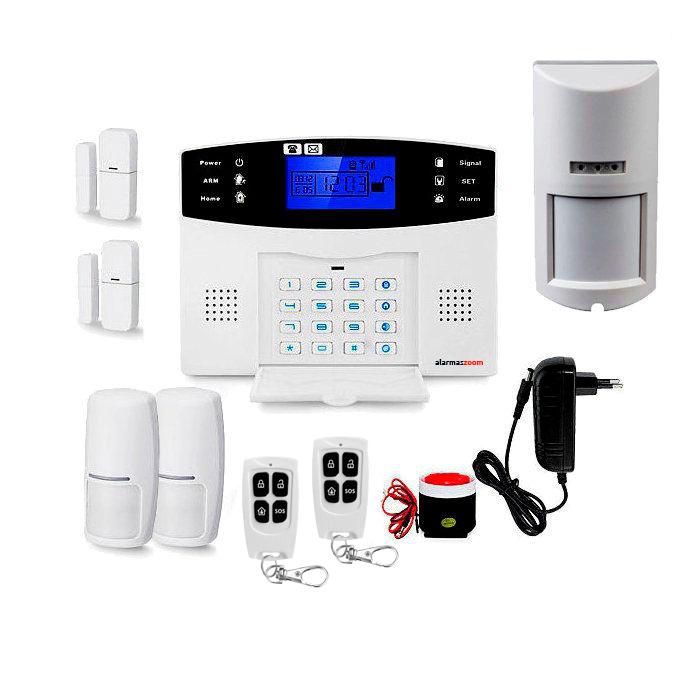 Alarma hogar mas seguridad Detector movimiento exterior antimascotas AZ017 28
