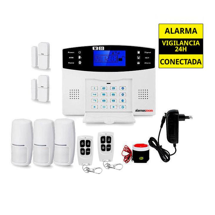Alarma hogar para mas seguridad Con sensores de movimiento AZ017 21