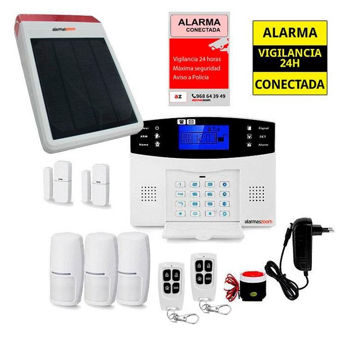 Sistema de alarma para casa con sirena solar AZ017 35
