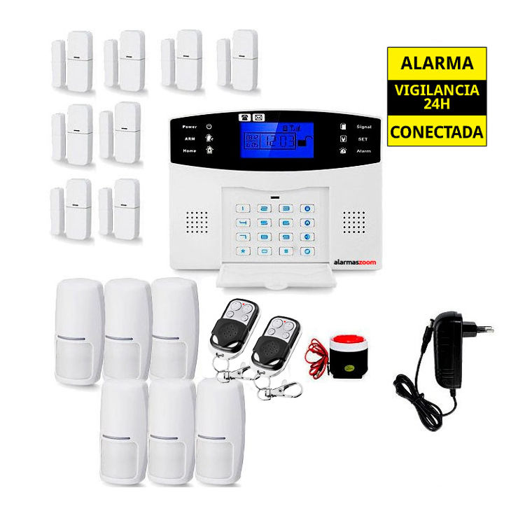 KITS ALARMAS SIN CUOTAS alarmas-zoom AZ017 24