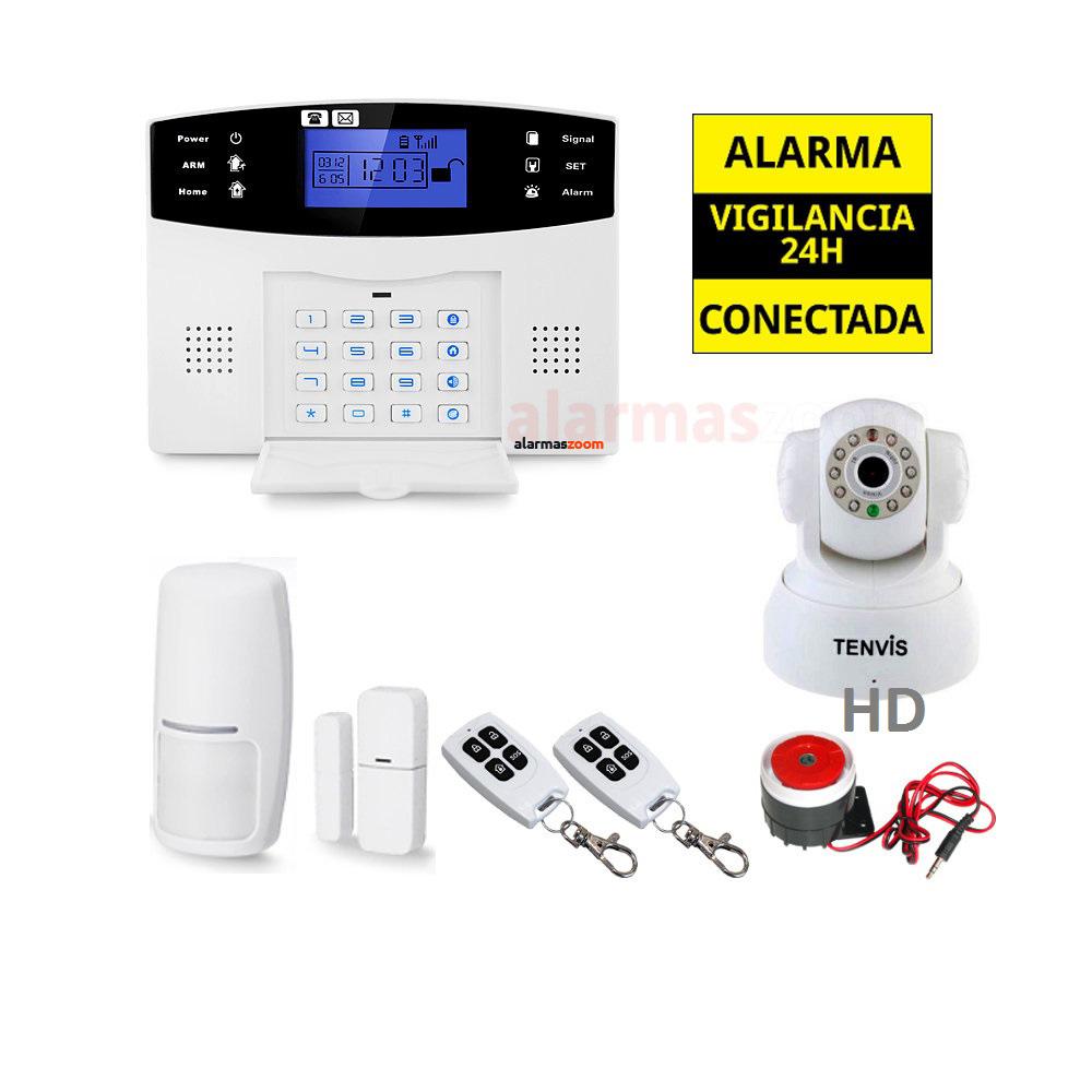 Kit Alarma hogar para mas seguridad Camara IP WiFi Tenvis AZ017 17
