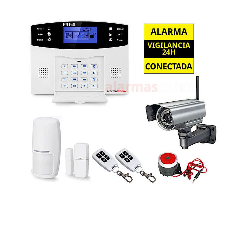 Kit Alarma hogar para mas seguridad Camara NeoCoolCam vigilancia exterior AZ017 17