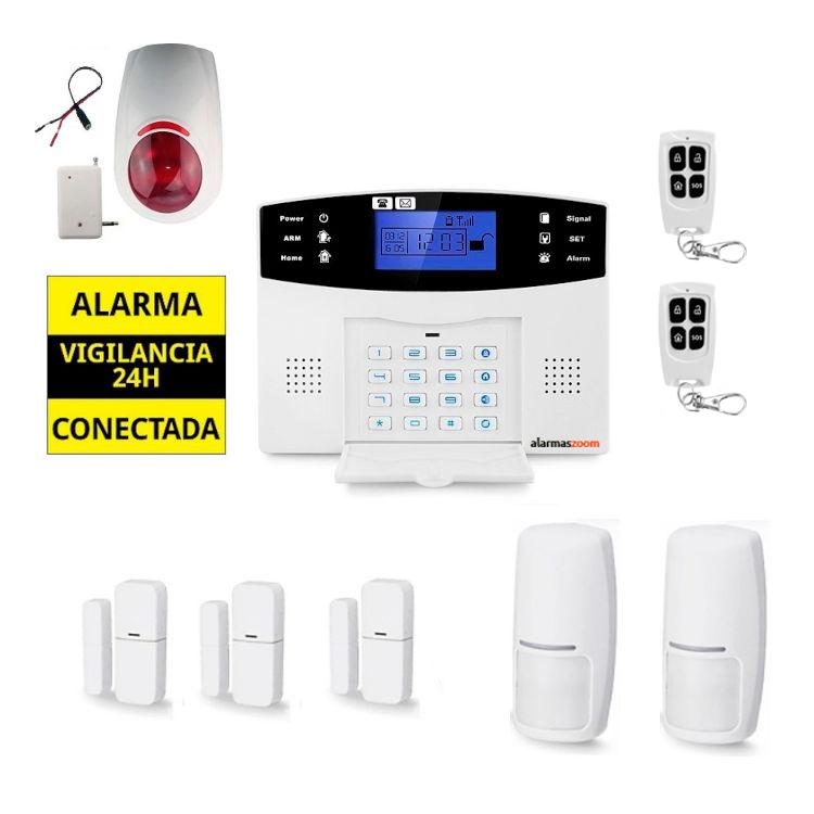 Sistema de alarma para casa Sirena inalambrica AZ017 14