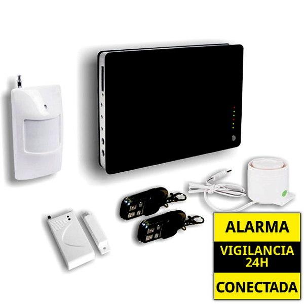 AZ008  GA122Q AZ008  GA122Q alarmas-zoom ALARMA GSM INALAMBRICA PANTALLA  SEGURIDAD PARA HOGAR / CASA / PISO / OFICINA