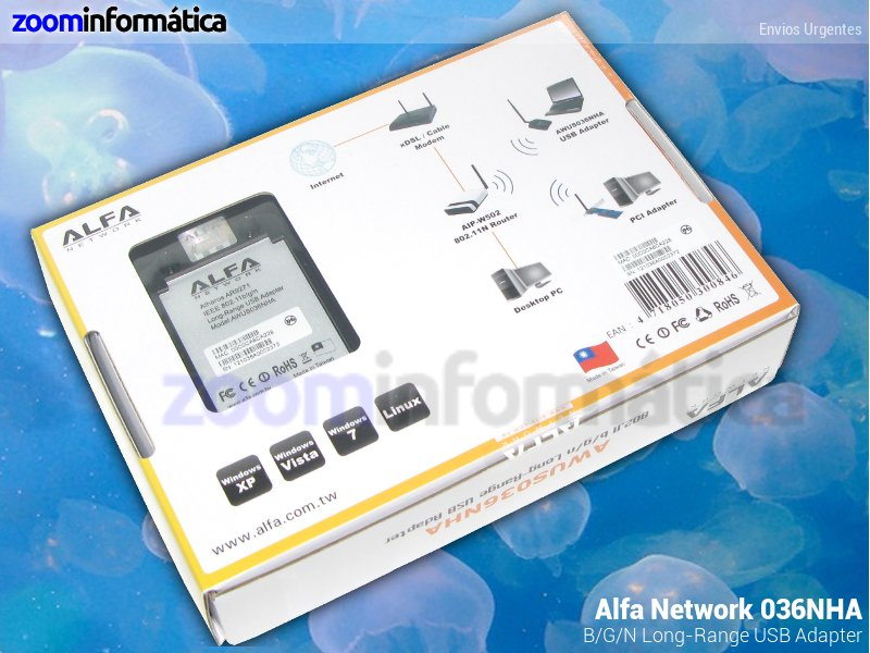 Alfa network AWUS036NHA
