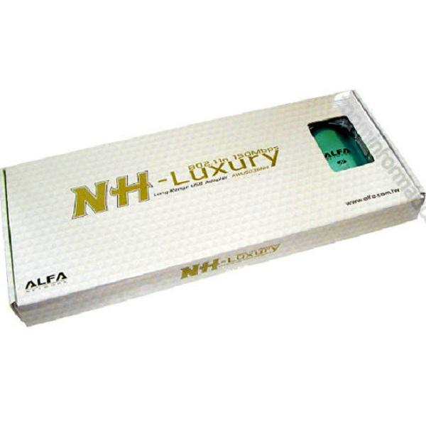 Comprar online Adaptadores WIFI USB ALFA NETWORK AWUS036NH LUXURY al mejor precio