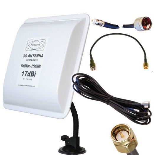 ANTENA 3G OTROS PANEL 3G V SMA 5M