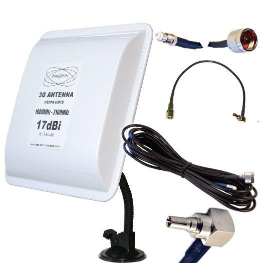 ANTENA 3G OTROS PANEL 3G V 10M CRC9