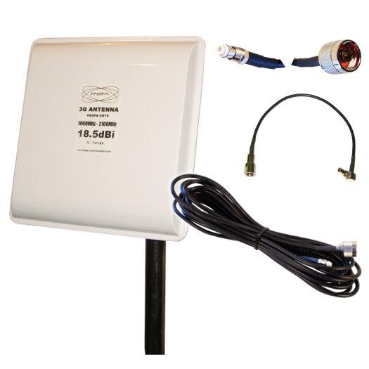 PANEL 3G 18.5 12M CRC9 GSM 3G Antenas 3G