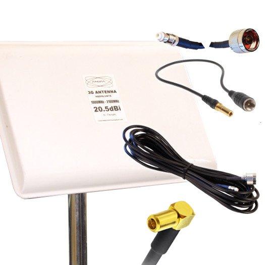 ANTENA 3G OTROS PANEL 3G 20.5DBI 5M SSMB