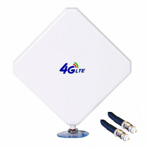 Antena 4G Theta W435 v2 Mimo Dual Compatible 4G Interior Exterior 5 Metros FME
