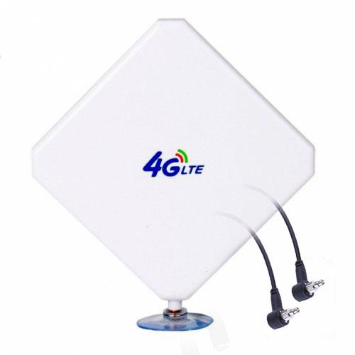 Antena 4G Theta W435 v2 Mimo Dual Compatible 4G Interior Exterior 5 Metros CRC9