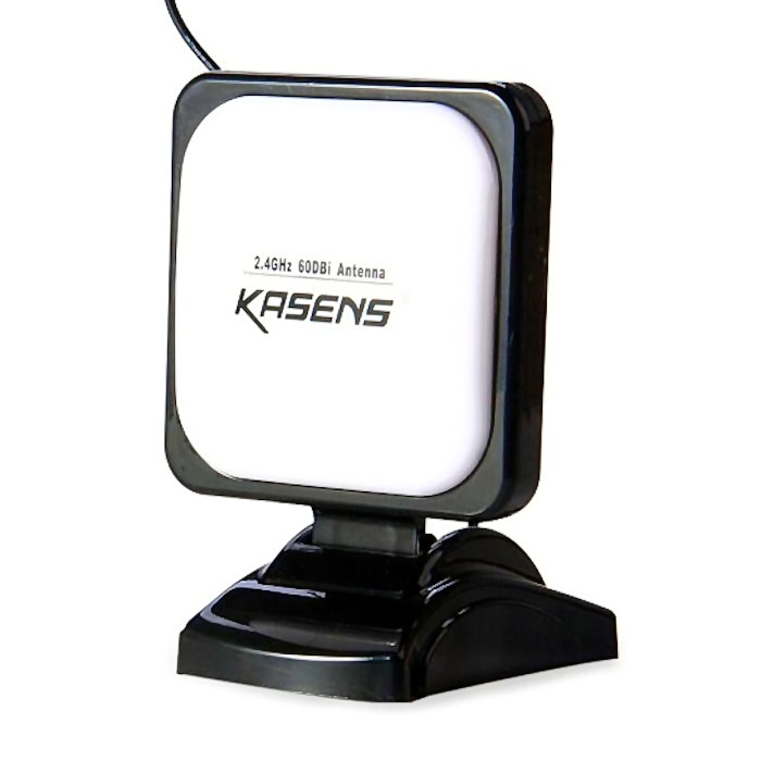 Kasens 990WG Antena Panel WiFi Interior RP SMA Cable 1 Metro