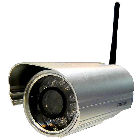 Foscam FI9804W Camara de vigilancia IP WiFi exterior fija HD 720p Reacondicionada