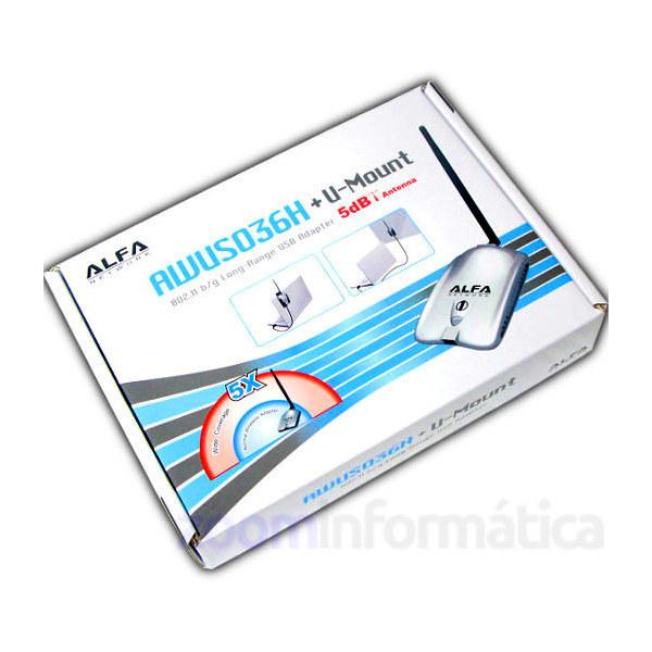 Comprar online Adaptadores WIFI USB ALFA NETWORK AWUS036H al mejor precio