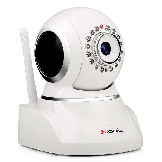 Apexis AH8034BW W Camara IP WiFi motorizada HD 720p Blanca