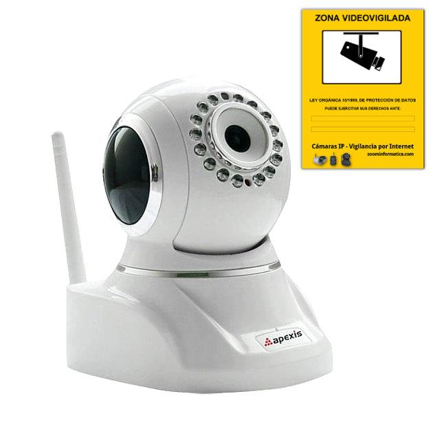 Comprar online Camaras IP Interior APEXIS APM-HP803-MPC-WS al mejor precio