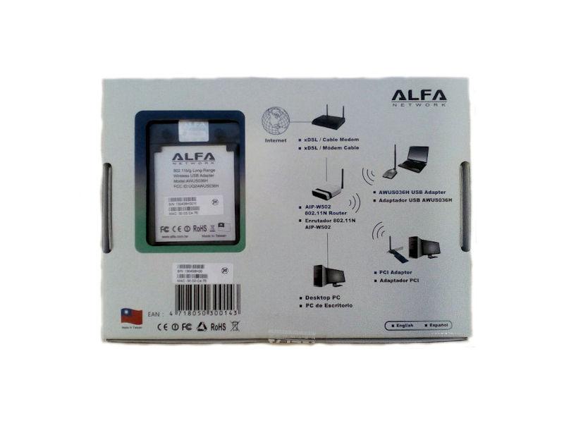 Alfa network AWUS036H V5