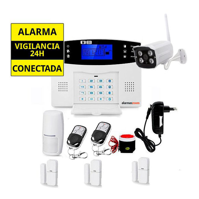 Sistema de alarma para casa Camara IP Vigilancia exerior AZ017 12