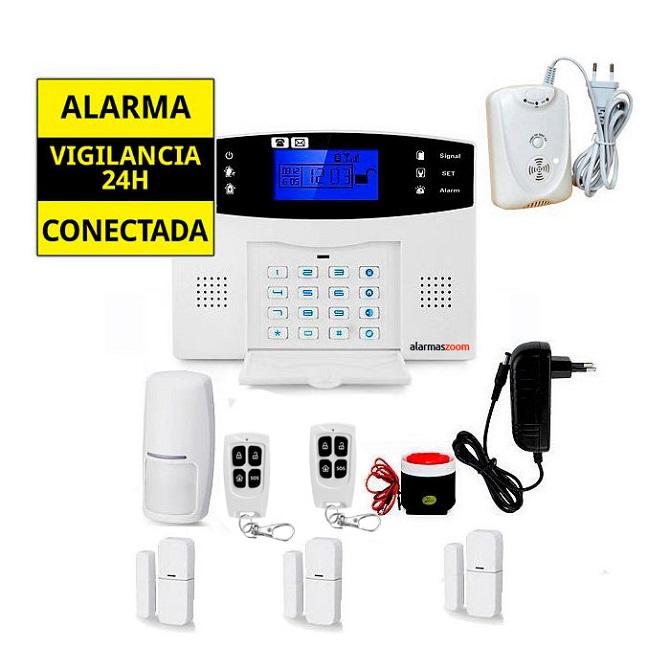 Sistema de alarma para casa Sensor Gas AZ017 12