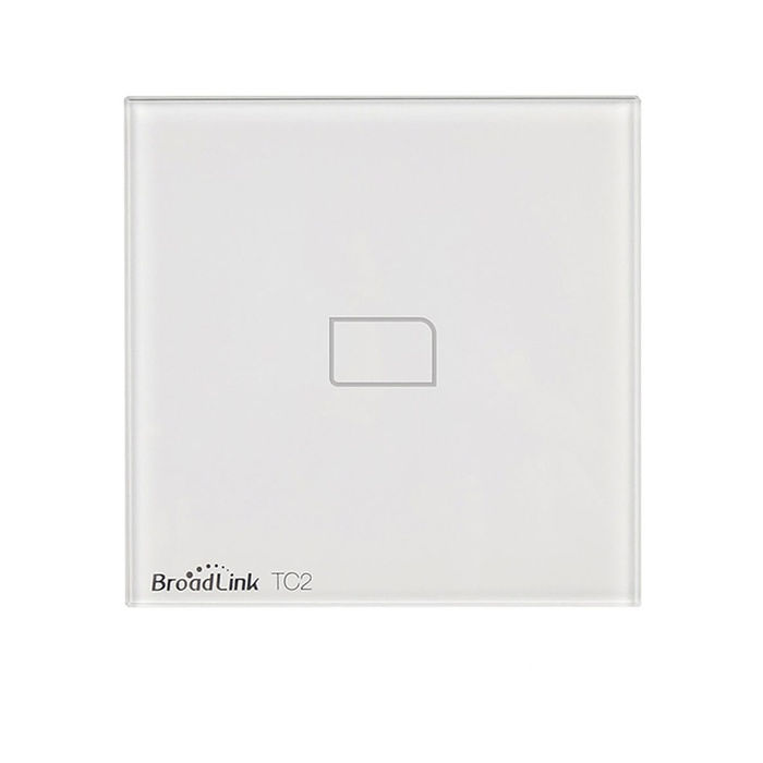 BROADLINK TC2 Interruptor de pared domotica en hogar encender luces desde movil TC2 Broadlink