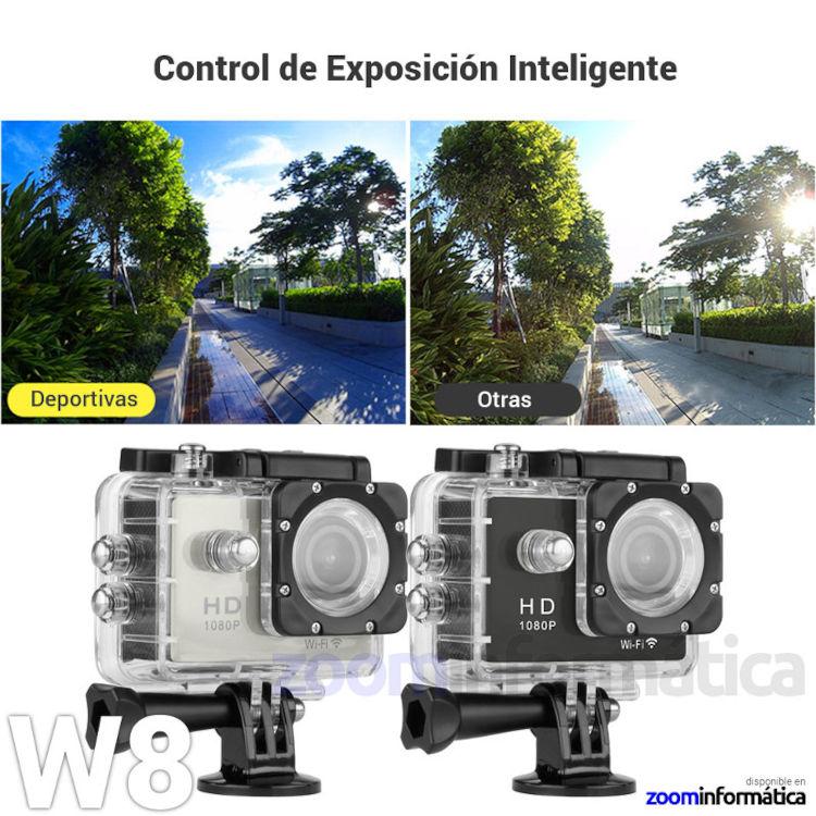 Camaras zoom W8