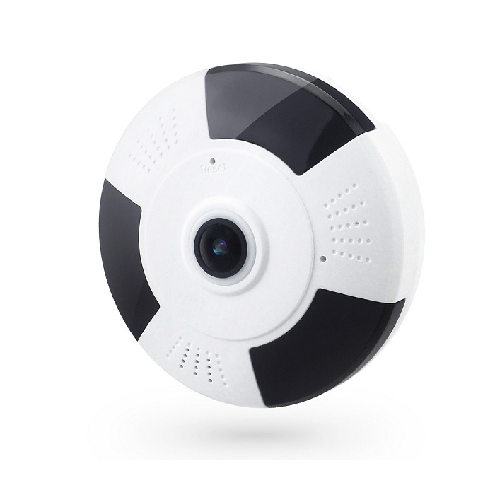 OTROS CAMARA 3D PANORAMICA Camara vigilancia 360 grados con vision 3D panoramica, angular ojo de fez, lente HD 1080P WiFi