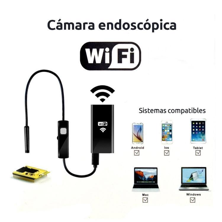 Otros Camara endoscopica WiFi