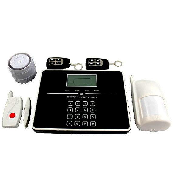 T33 T33 alarmas-zoom SISTEMA ANTIROBO ALARMA WIRELESS WIFI WI-FI GSM SMS SENSOR CASA OFICINA T33