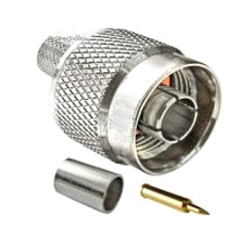 Conector N Macho Pigtail LMR200 H155