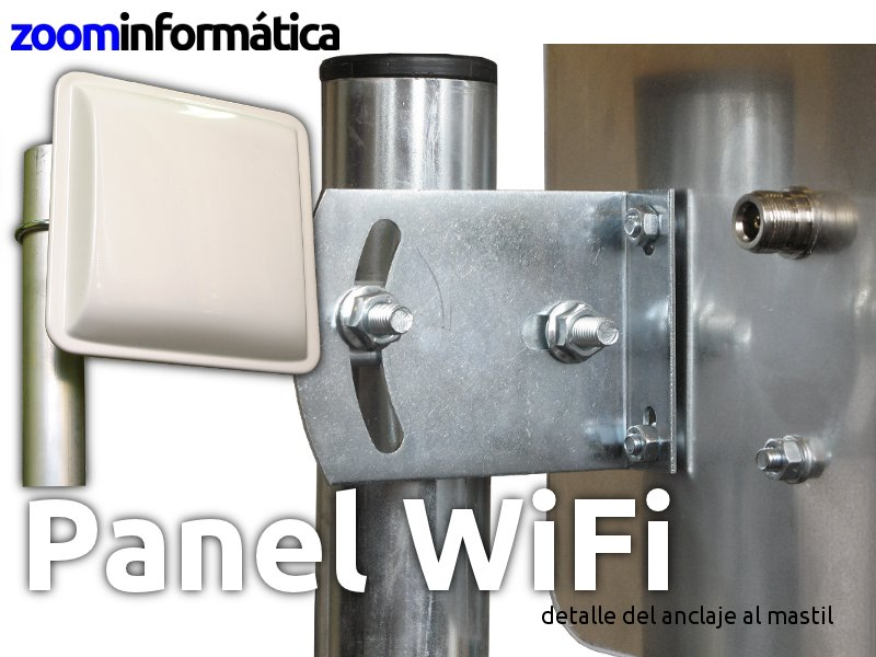 Wonect PANEL 18 DBI SIN CABLE