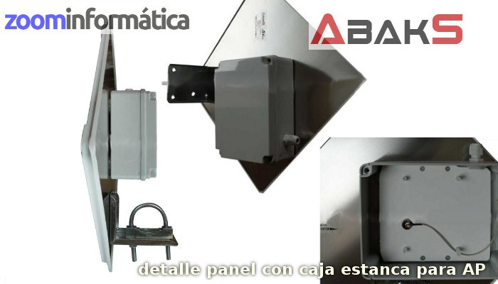 Abaks ABAKS PANEL ESTANCA 19DBI