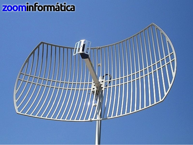 Alfa network PARABOLICA 24DBI SIN CABLE