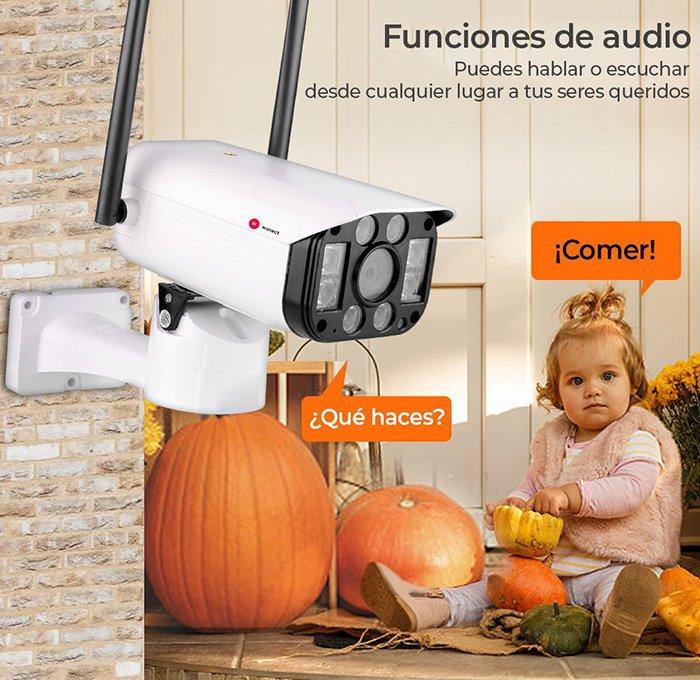 sonido-Camara-seguridad-exterior